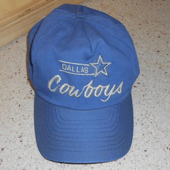 Vintage Dallas Cowboys baseball cap hat. M 5be63df704e33df57d138872 7e6b3a681325